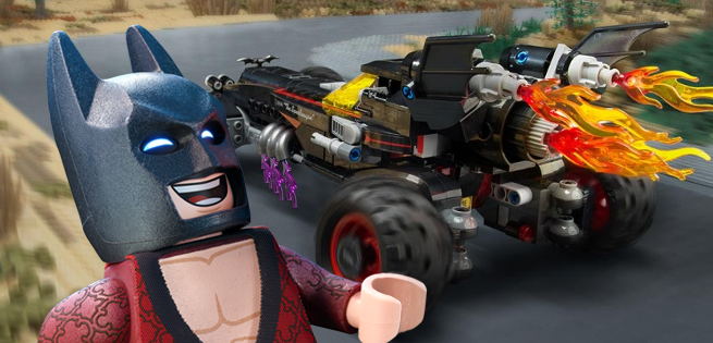 Chevrolet Unveils Life-Size Version of LEGO Batman's Batmobile