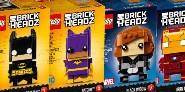 lego dc marvel superhero brickheadz