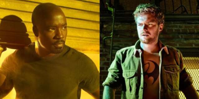 Luke Cage Iron Fist Defenders