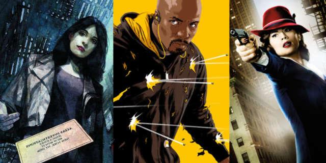 Marvel TV Diversity Luke Cage Jessica Jones Agent Carter