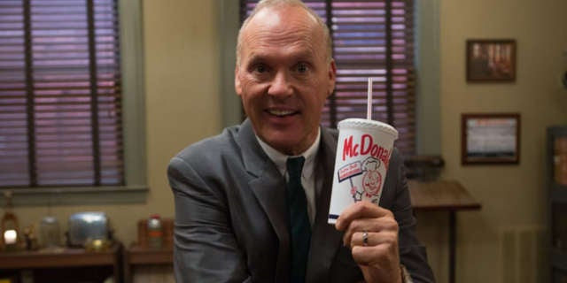 michael keaton the founder movie mcdonald's