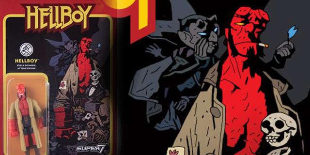 new retro hellboy action figures super7