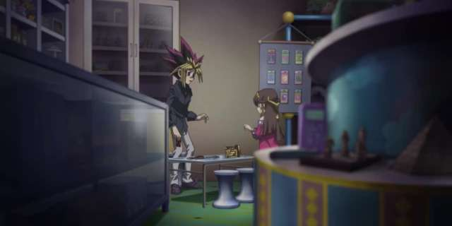 New Yu-Gi-Oh! The Dark Side of Dimensions Footage Highlights Yugi & Sera [HD] screen capture