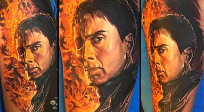 Check Out These Crazy Nicolas Cage Tattoos