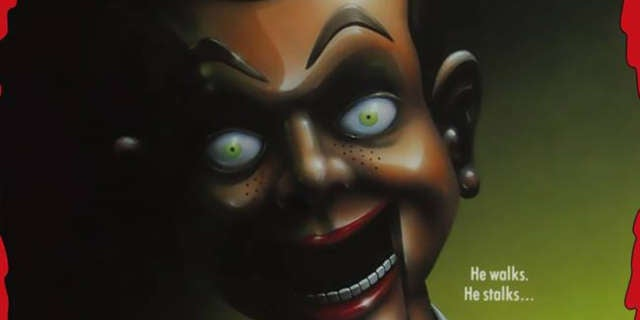 night of the living dummy goosebumps mask