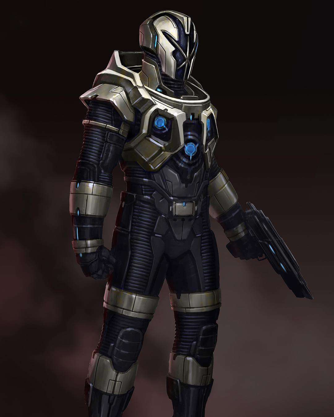 Alternate Nova Corps Designs for Marvel's Guardians of the ...