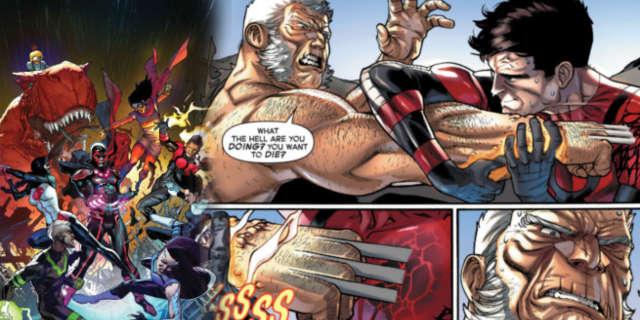 Old Man Logan Versus Inferno Inhumans versus X-Men