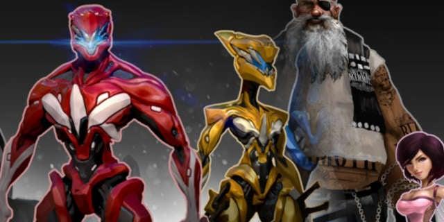 Power Rangers Redesign Bryant Koshu
