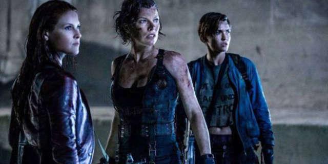 Resident Evil The Final Chapter Ali Larter Ruby Rose Milla Jovovich