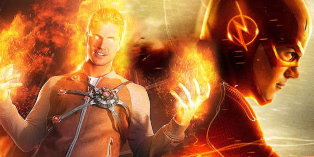 robbie amell teases firestorm return the flash