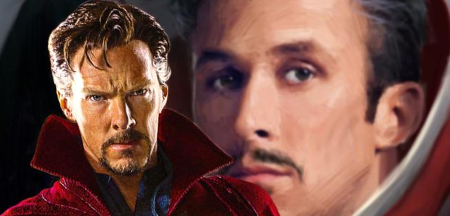 Concept Art of Ryan Gosling as Marvel's Doctor Strange
