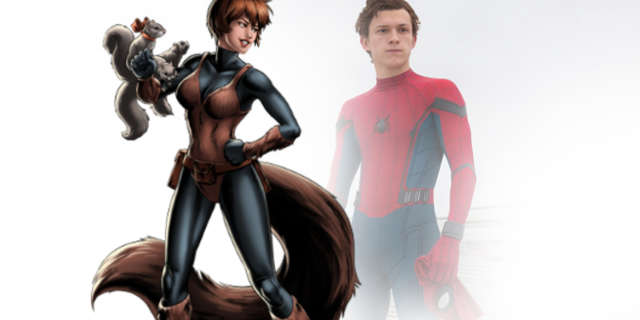 Spider Man Tom Holland Squirrel Girl Powers