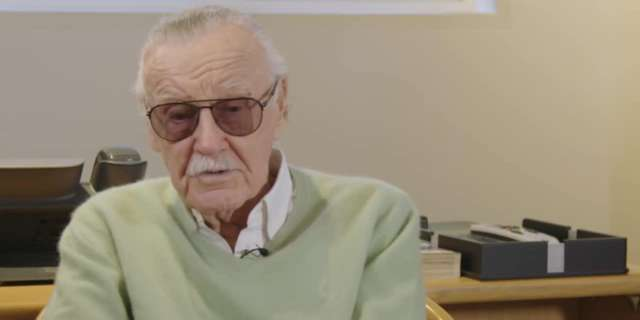Stan Lee Commemorates 75 Years at Marvel [HD] screen capture