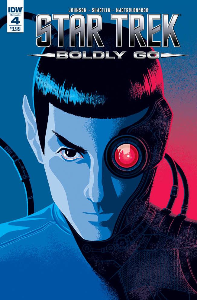 Star Trek Boldly Go 4 Spoilers Spock Borg Assimilation Immunity