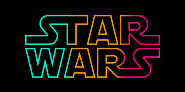 star wars logo alternate colors