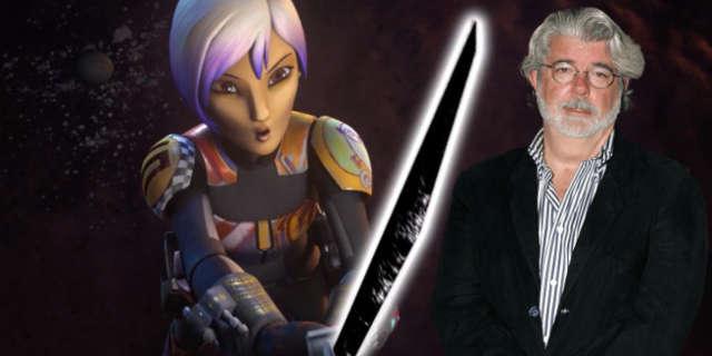 star wars rebels clone wars george lucas darksaber