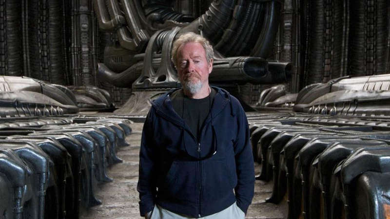 Ridley Scott Signs Deal To Create Original Sci-Fi Programming For TNT