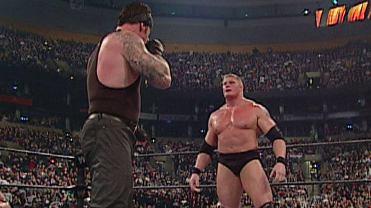 Taker Lesnar 2003 Royal Rumble