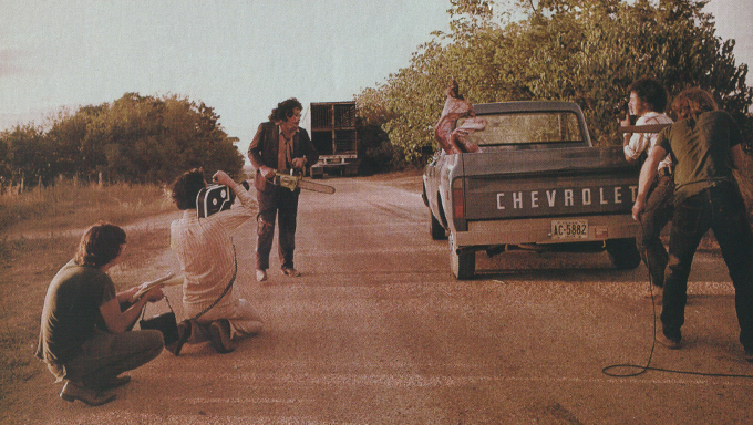 texas chain saw massacre behind the scenes ending