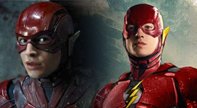 Fan Brightens Ezra Miller's Flash Costume And It's Awesome