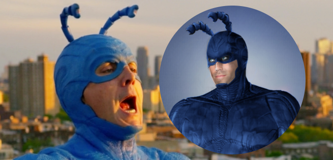 Costume Designs for Amazon's The Tick