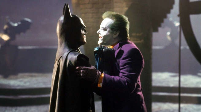 Video of Michael Keaton Jack Nicholson Peoples Choice Award 1990 Batman
