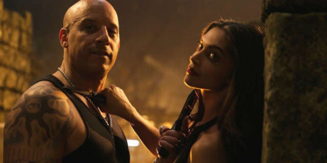 Vin Diesel in XXX return of Xander Cage
