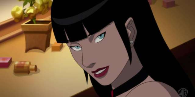 Zatanna and Batman in Justice League Dark screen capture
