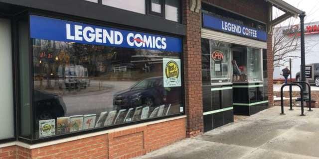 01 Legend Comics and Coffee