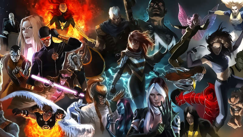 New X-Men TV Series Title Revealed X Men Characters