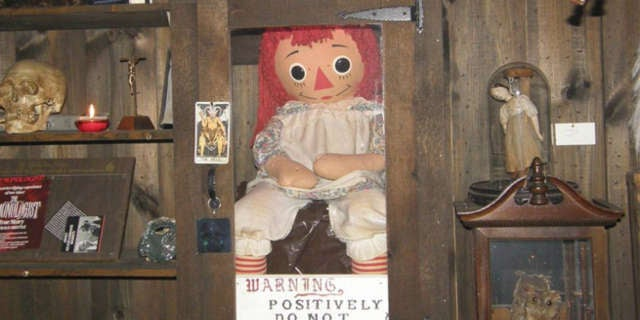 annabelle real doll