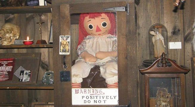 Get A Rare Look At The Real Annabelle Doll From 'The Conjuring' Tonight On Facebook