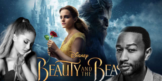 ariana grande john legend beauty and the beast