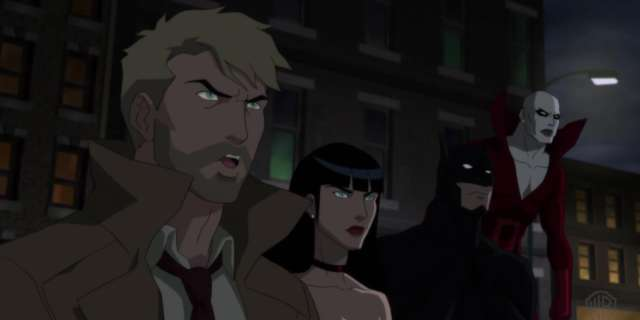 Batman vs. Shrouds in all-new Justice League Dark clip [HD] screen capture