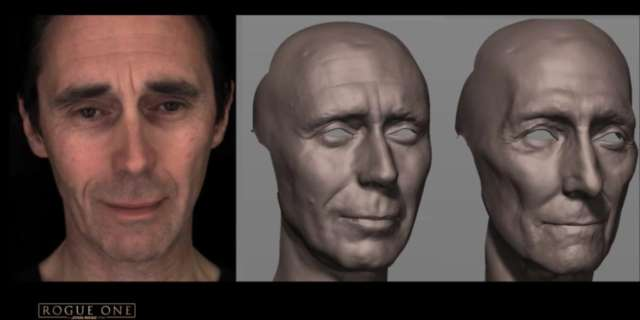 Behind the Magic: Recreating Tarkin for Rogue One: A Star Wars Story [HD] screen capture