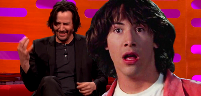 Keanu Reeves Gives Bill & Ted Fans a Glimpse of Middle-Aged Ted Logan
