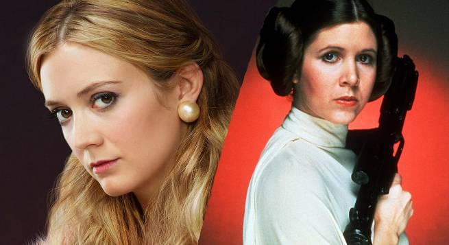 BIllie Lourd Shares Carrie Fisher Photo