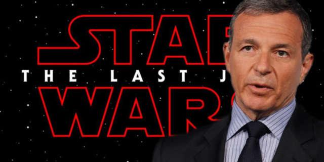 bob iger has seen star wars the last jedi