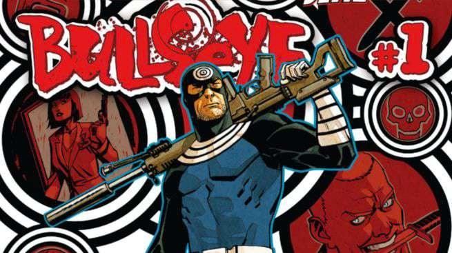Bullseye #1 Cover