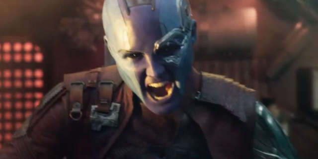 Check Out Nebula's New Costume For Guardians Of The Galaxy Vol 2