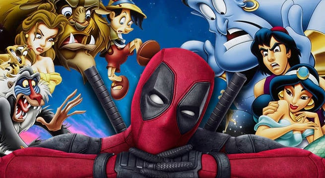 Deadpool Invades Disney Classics