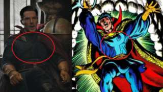 Doctor Strange Comic Costume Easter Egg Post Credit Scene