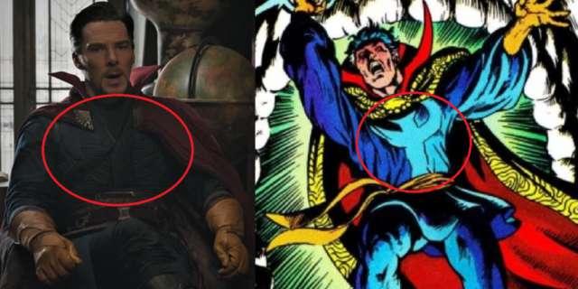 Doctor Strange Comic Costume Easter Egg Post Credit Scene