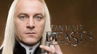 fantastic beasts harry potter lucius malfoy return