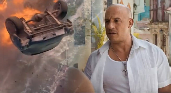 Many Fate Of The Furious Stunts Were Real