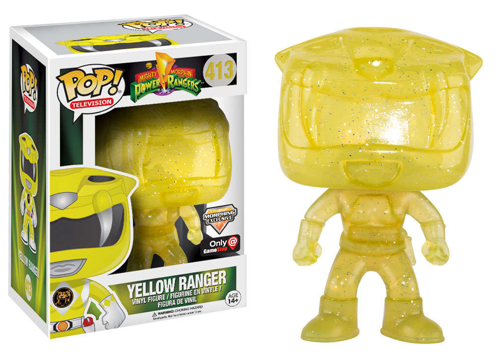 Power Rangers Gets Glitter Gamestop Exclusive Funko Pops