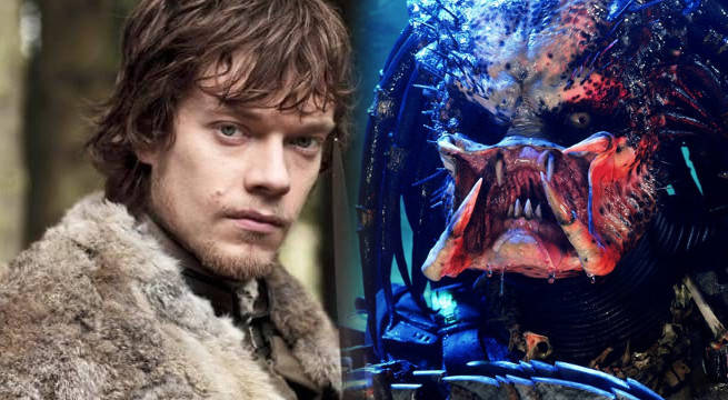 game of thrones alfie allen predator shane black theon greyjoy