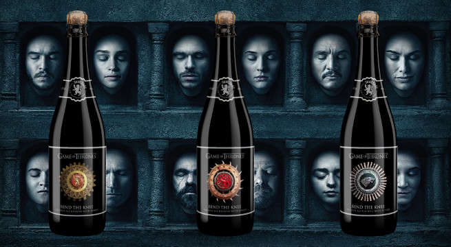 Game of Thrones Bend The Knee Golden Ale