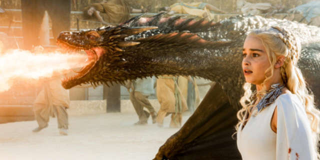 game of thrones set photos filming dragon effects