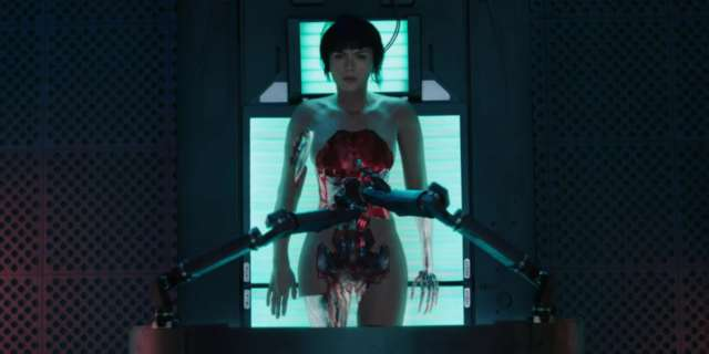 Ghost in the Shell - Official Trailer #2 [HD] screen capture